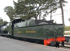 Steam Engine coupling to train